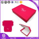 Faltbarer Luxux-Kleidungs-Gleichheit-Bogen-Knoten, der Perper Geschenk-Kasten verpackt