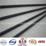 fil à haute résistance de béton contraint d'avance de spirale de la force 1670MPa de 4.8mm
