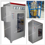 Máquina de endurecimiento de frecuencia media vertical del CNC de Rolls del trabajo del diámetro el 1m