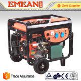 jogo de gerador trifásico da gasolina do começo 3kw elétrico (EM4800A)