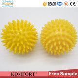 CE da esfera da massagem de Spikys da mão do PVC da promoção mini (JMC-420B)