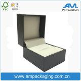 El rectángulo de empaquetado de empaquetado del regalo de la vuelta de la boda del rectángulo de la cartulina del regalo rígido del papel modificó para requisitos particulares