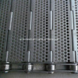 Acoplamiento del transportador del acero inoxidable para lavarse, secándose, proceso de alta temperatura