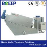 酪農業の排水処理のための沈積物の手回し締め機