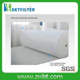 Filtro de ar do teto do filtro de telhado 560g dos media da difusão dos media de filtro da cabine de pulverizador dos media de F5 Fitration