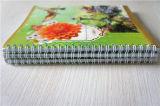 Caderno espiral do bloco de notas feito sob encomenda por atacado dos artigos de papelaria da escola (IMPRESSÃO de YIXUAN)