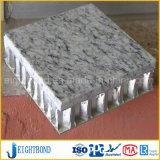 Панель сота мрамора конструкции способа алюминиевая для стены фасада