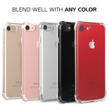 Shock Absorption Flexible TPU Anti-Scratch Slim Protective Clear Back Cover pour iPhone 7 Plus