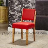 レトロ様式の材木のレストランによって装飾される椅子および表(SP-CT804)