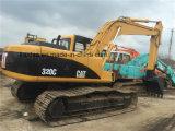 Excavatrice utilisée 320c, excavatrice utilisée de chat de Hydrauic du chat 320c