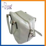 高品質新しいデザイン方法白いPUの女性袋