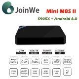 MiniM8sii Amlogic S905X Vierradantriebwagen-Kern androider intelligenter Fernsehapparat-Kasten