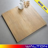 rustikale hölzerne Fliese-glasig-glänzende Porzellan-Fliese des Fußboden-600X600 (WT-66014)