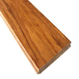 Étage en bambou tissé par brin de la qualité T&G