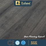 Plancher stratifié par stratifié en bois conique de vinyle de l'enduit HDF V de la cire AC3