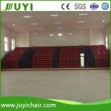 Silla de conferencias Salas eléctrico del blanqueador Bleacher cubierta retráctil para Conferencia Jy-768r
