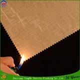 Сплетенное водоустойчивое пламя - retardant ткань занавеса окна светомаскировки для пользы гостиницы