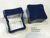 Rectángulo de empaquetado personalizado del regalo de lujo de la mancuerna