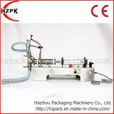 Remplissage liquide semi automatique simple horizontal de liquide de machine de remplissage de tête