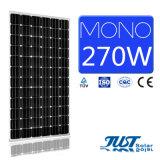 太陽熱発電所のためのセリウム、CQCおよびTUVの証明の最もよい価格270Wのモノラル太陽電池パネル