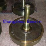 Asta cilindrica e rotella dell'acciaio legato