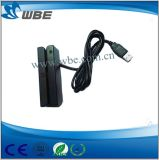 Leitor de cartão magnético do furto relação quente do USB da venda da mini