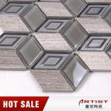 Mosaico barato do vidro das telhas cerâmicas do toalete do preço da fábrica de Foshan