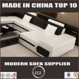 部門別のソファーの一定の現代家具L形の革ソファー
