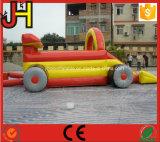 Gorila de salto del coche inflable, gorila inflable del tema del coche, gorila inflable del coche