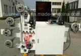 Grande largura de alimentação, baixo custo, máquina de estaca patenteada da abertura