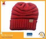 Chapeau chaud de Beanie de 2017 cc de l'hiver