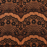 [إيوروبن] إفريقيّة [سويسّ] ترحيب لأنّ ملابس نيلون هدب [3د] زهرة شريط تول بناء