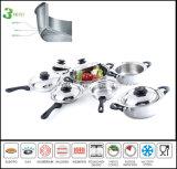 Ply Kitchenware Tri весь комплект Cookware нержавеющей стали Cald