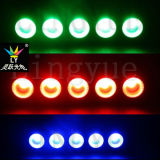5PCS 10W Blinder-Matrix-Disco-Licht des Panel-LED