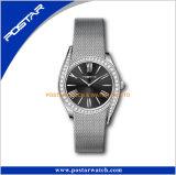 wristwatch диаманта полосы сетки нержавеющей стали 316L Milanese