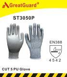 Ладонь PU Supershield отрезала перчатку 5 (ST3050P)