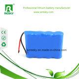 14.8V 2600mAh 4s1p Li-Ionbatterie-Satz für medizinisches Patienten-Überwachungsgerät