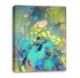 Paisaje Waterlily - 005 del impresionismo