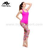 2017 de nieuwe Broek van Legging van de Gymnastiek van de Training van de Broek van de Yoga van de Slijtage van de Sport van de Vrouwen van de Beenkappen van de Fitness van de Aankomst
