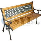 延性がある鋳鉄の屋外の庭のベンチ