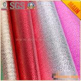 Tecido não tecido laminado de filme metálico para material de fabricação de sacos