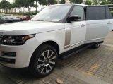 Range rover ostenta a placa Running elétrica de auto acessórios