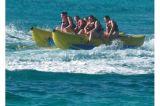 Barca di banana gonfiabile dei 6 tubi della persona 2