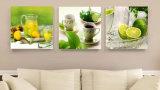 3 قطعة خداع حارّة حديثة [ولّ بينتينغ] يطبع ثمرات يدهن بيتيّ زخرفيّة جدار فنية صورة يدهن على نوع خيش منزل [مك-200]