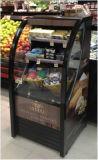 OpenluchtMerchandiser van het Gordijn van de Lucht van de supermarkt Verticale Showcase voor Drank