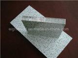 Leichte Steinkorn-Oberflächen-Aluminiumbienenwabe-Panel für Baumaterialien