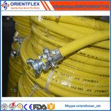 Boyau industriel en caoutchouc flexible coloré de compresseur d'air