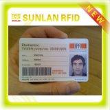 Het Slimme Lege Identiteitskaart van de Student van de Campus RFID met Aangepaste Druk
