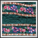 Флористический шнурок вышивки Tulle шнурка вышивки цветка сетки шнурка вышивки