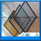 4-19mmの明確なか着色された緩和された薄板にされた低いE絶縁ガラス